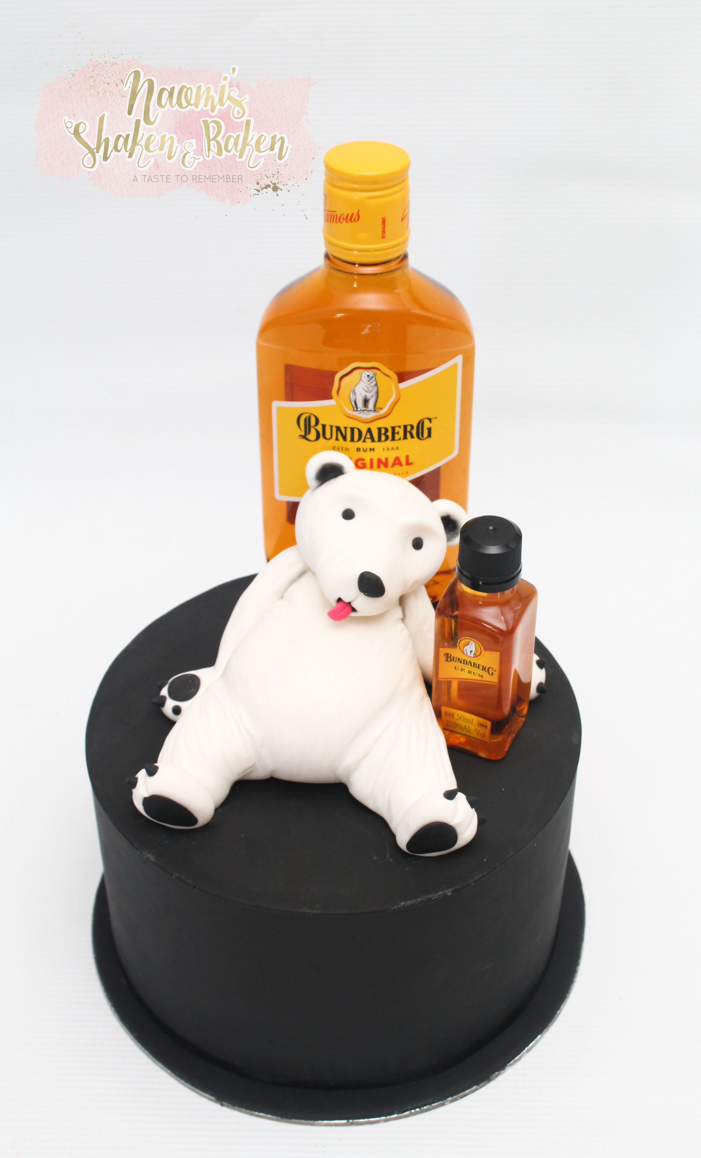 Bundy rum bear cake Morayfield
