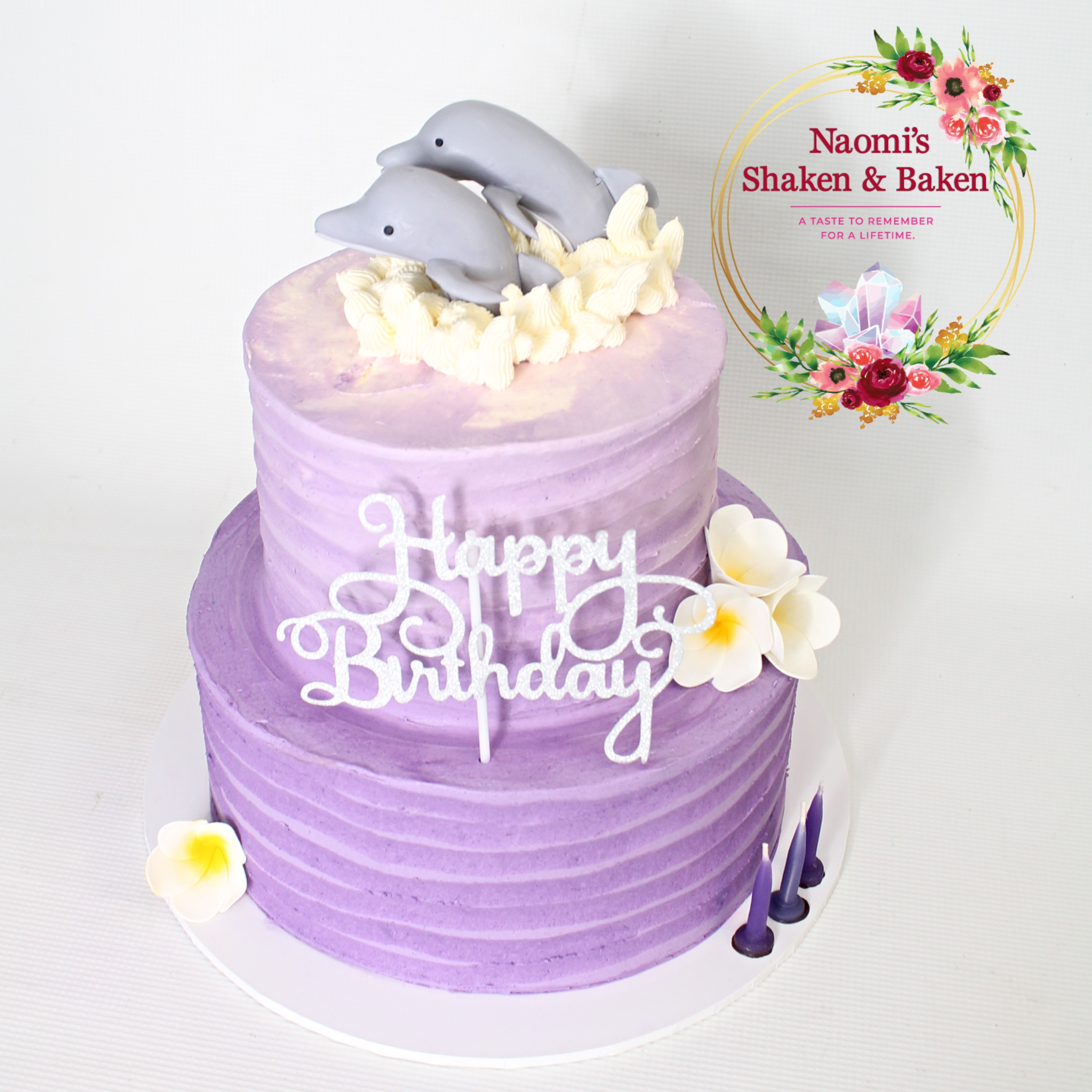 Dolophin Ombre Cake Birthday Caboolture Morayfield