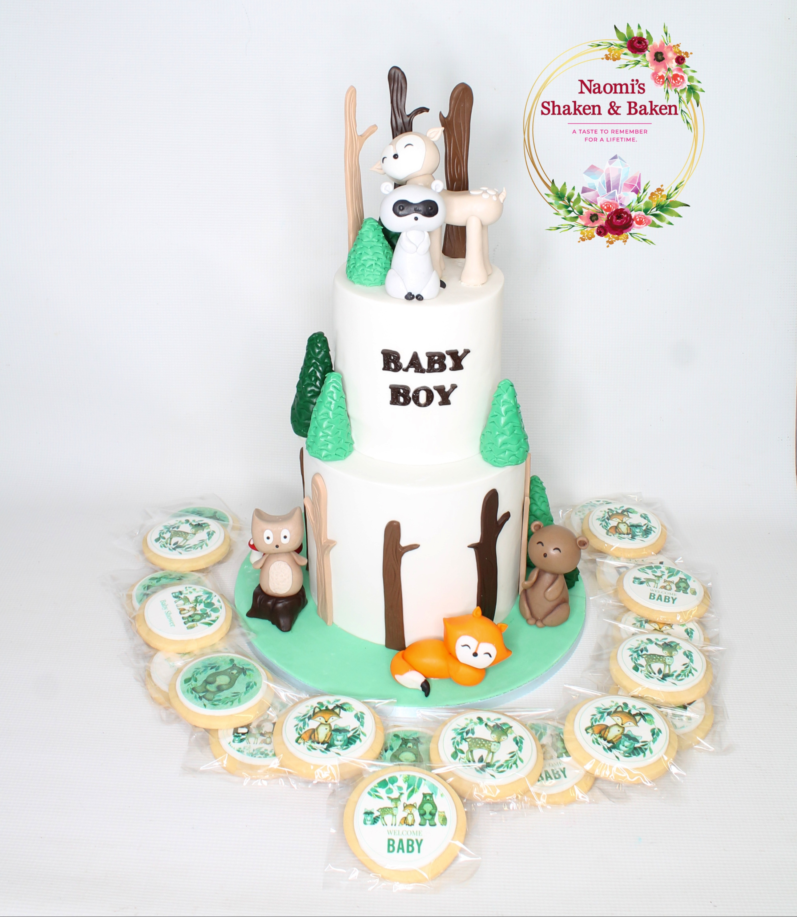 Woodland Baby Shower Theme Caboolture