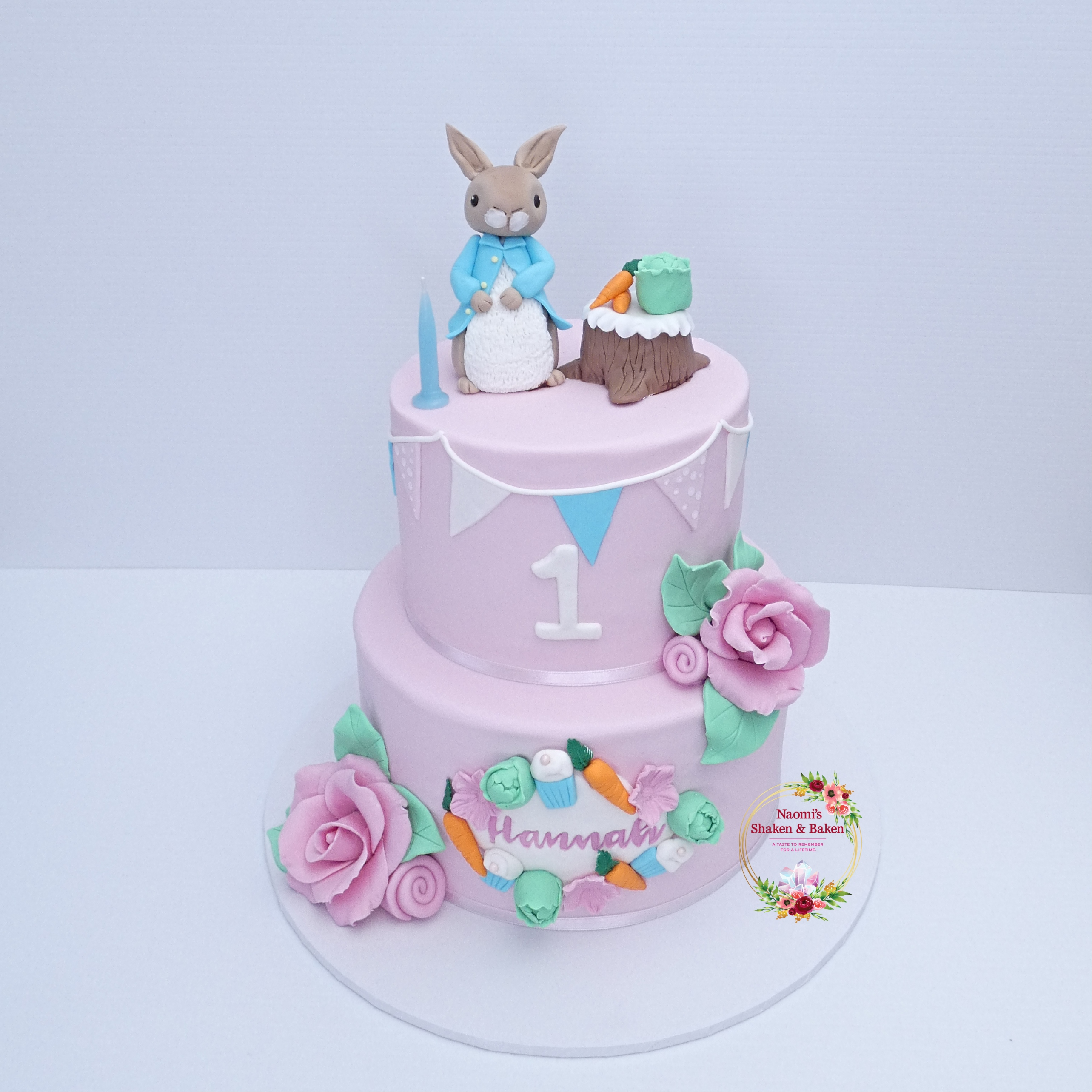Peter Rabbit Themed Birthday Cake NorthLakes Caboolture