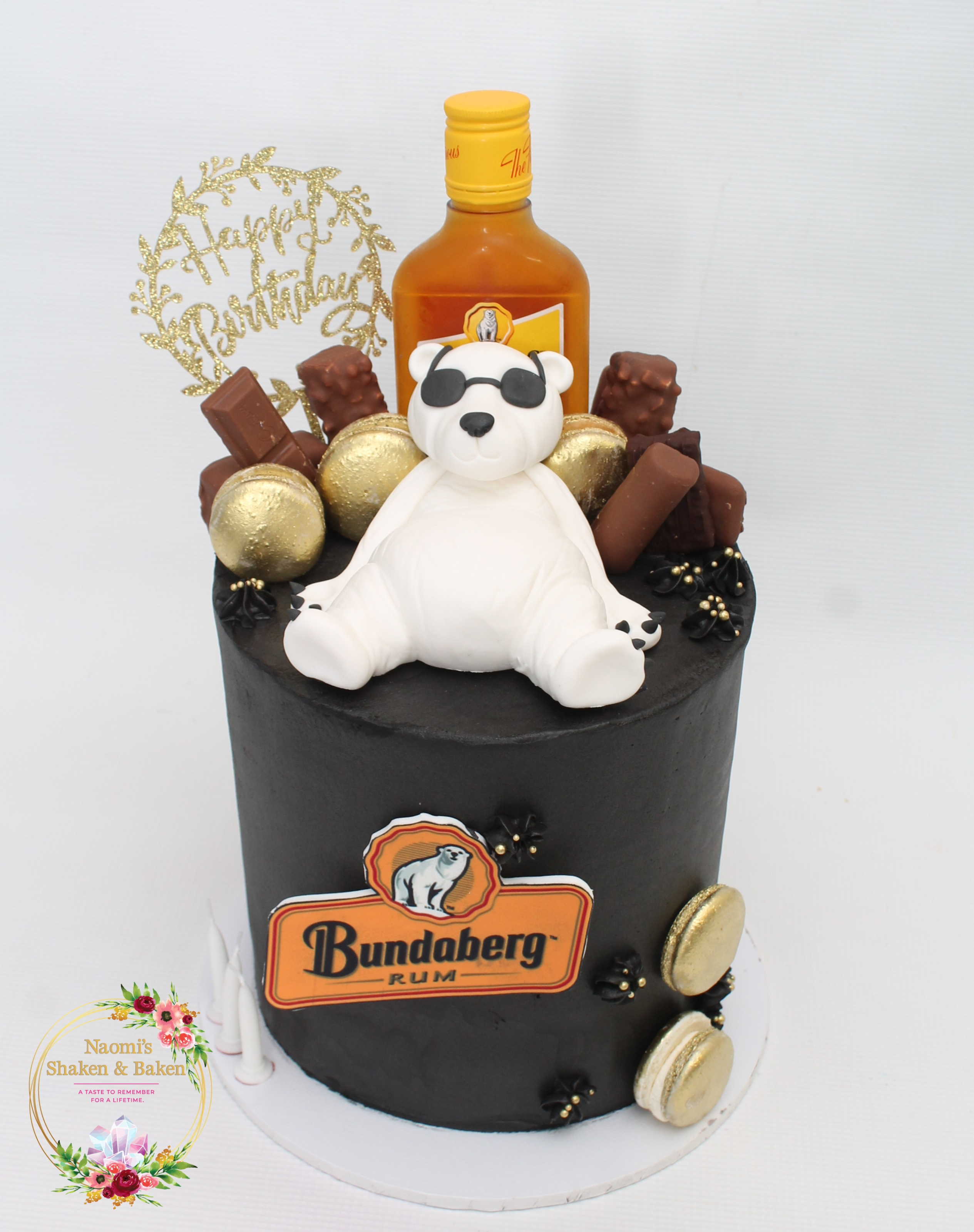 Bundy Bear Birthday Cake