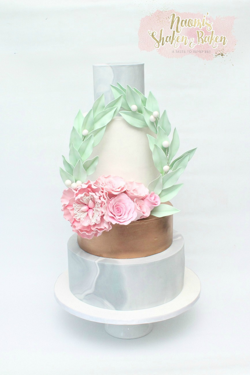 Wedding Cake Platinum Event Hire