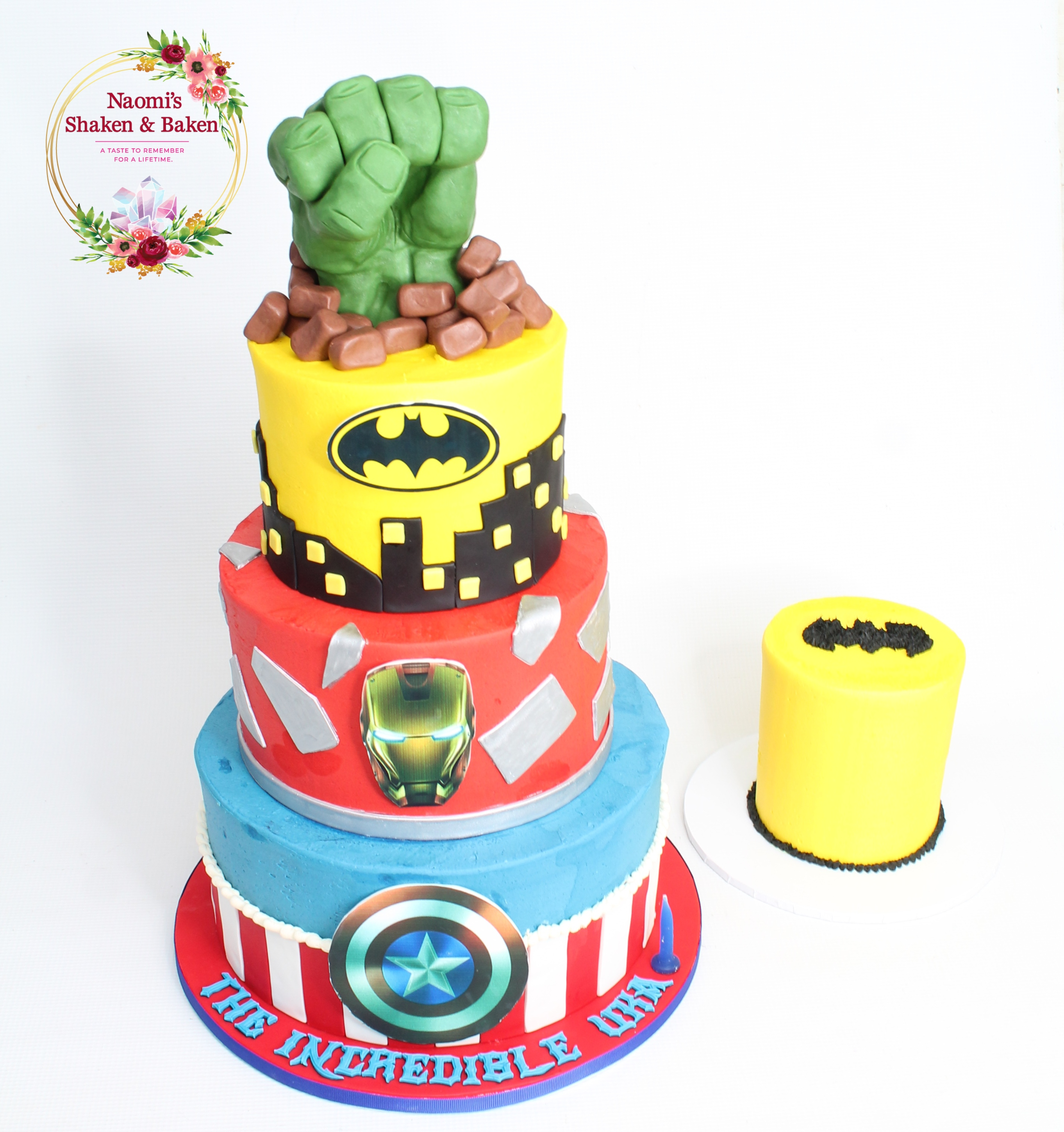 IMG_906Super Hero Birthday Cake Caboolture91