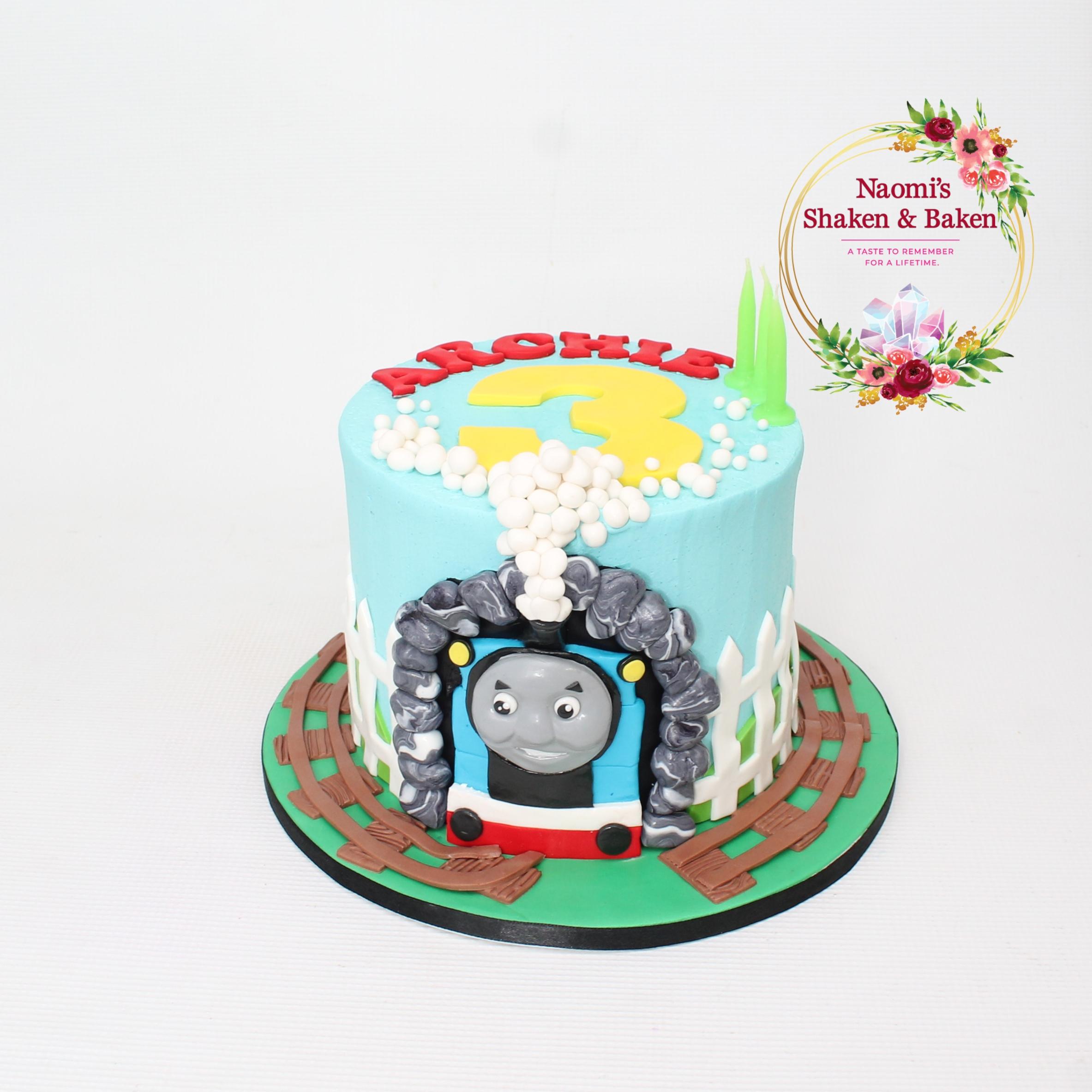Train Birthday Cake Caboolture