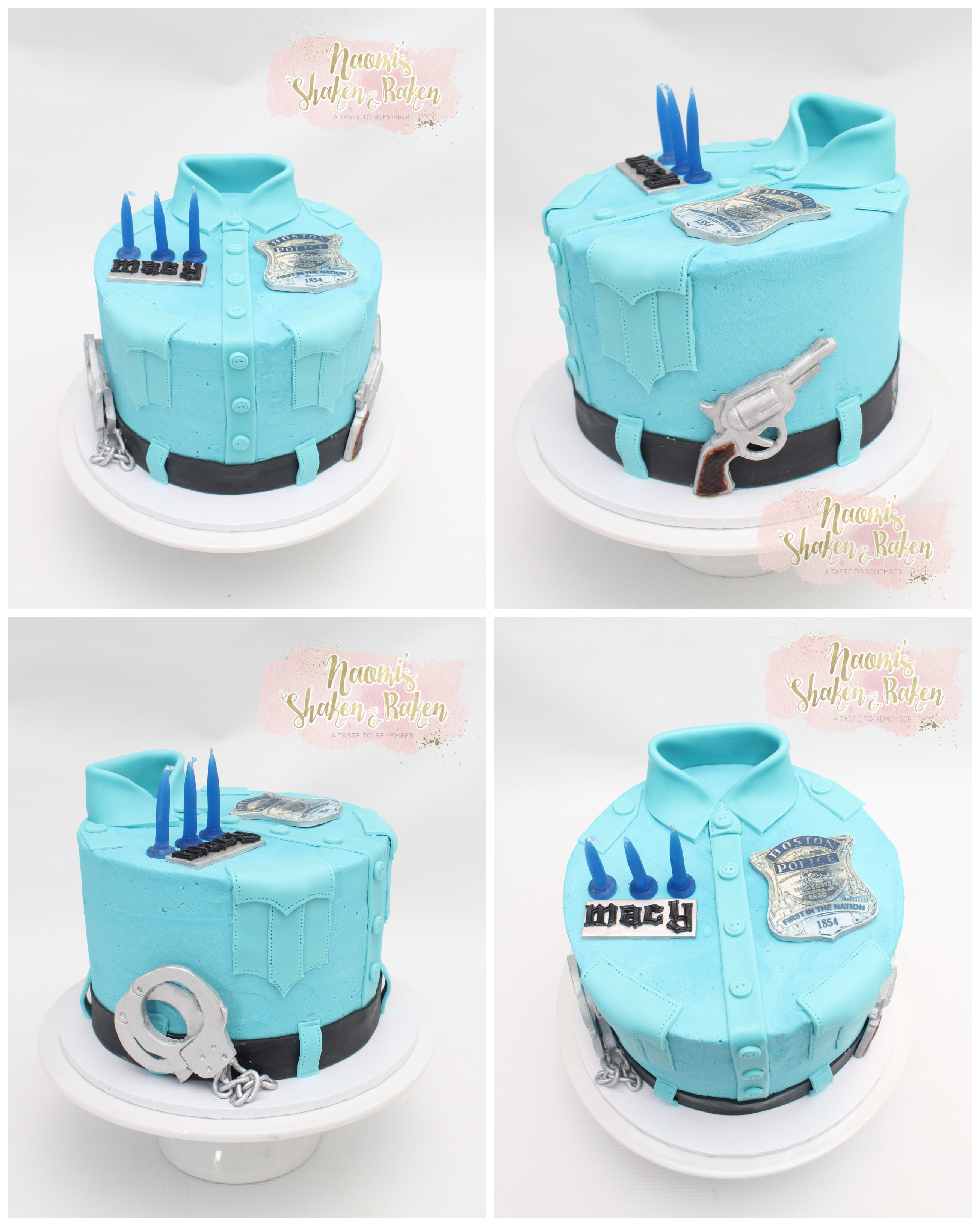 Policeman cake caboolture