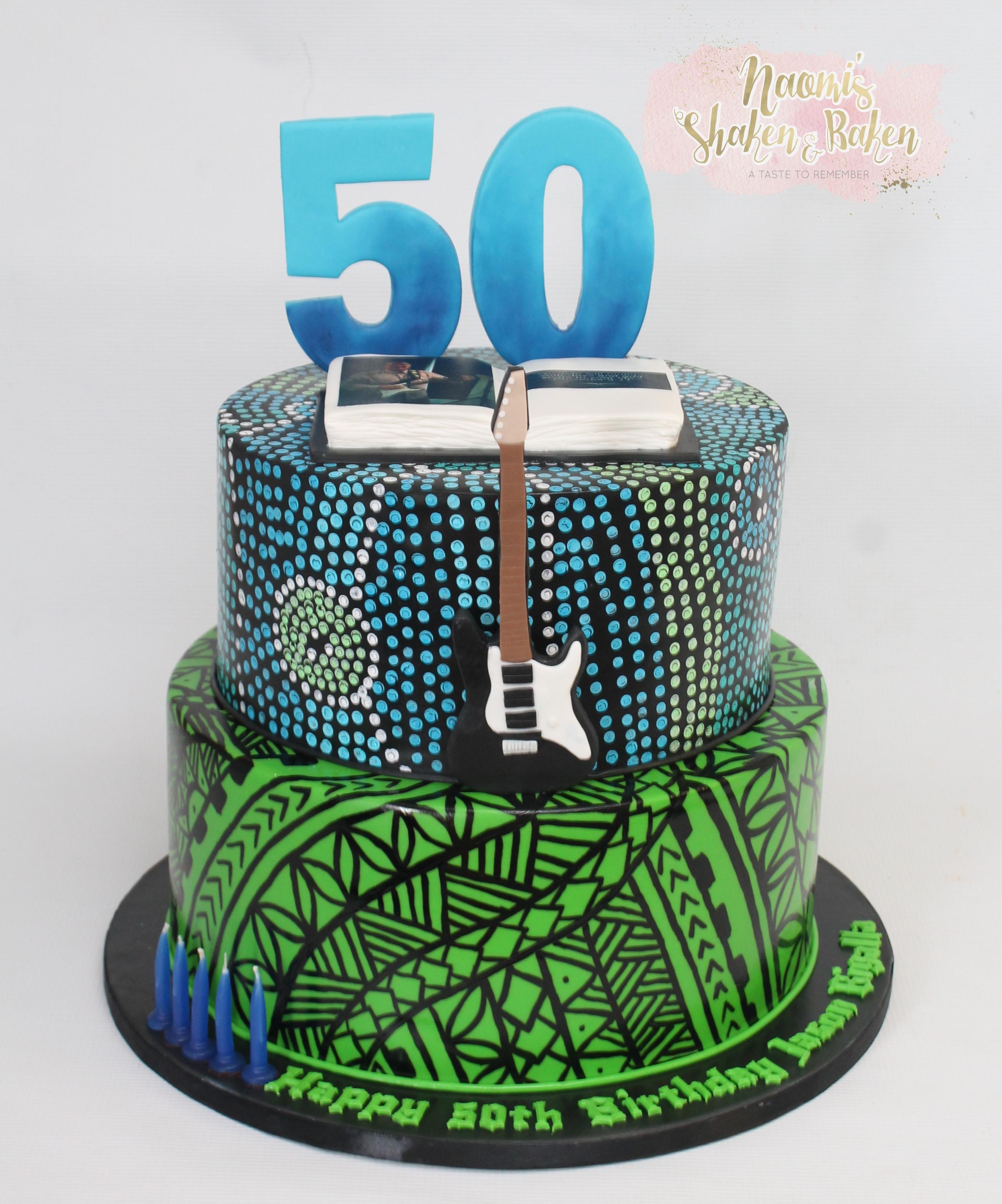 Aboriginal & Samoan Birthday Cake