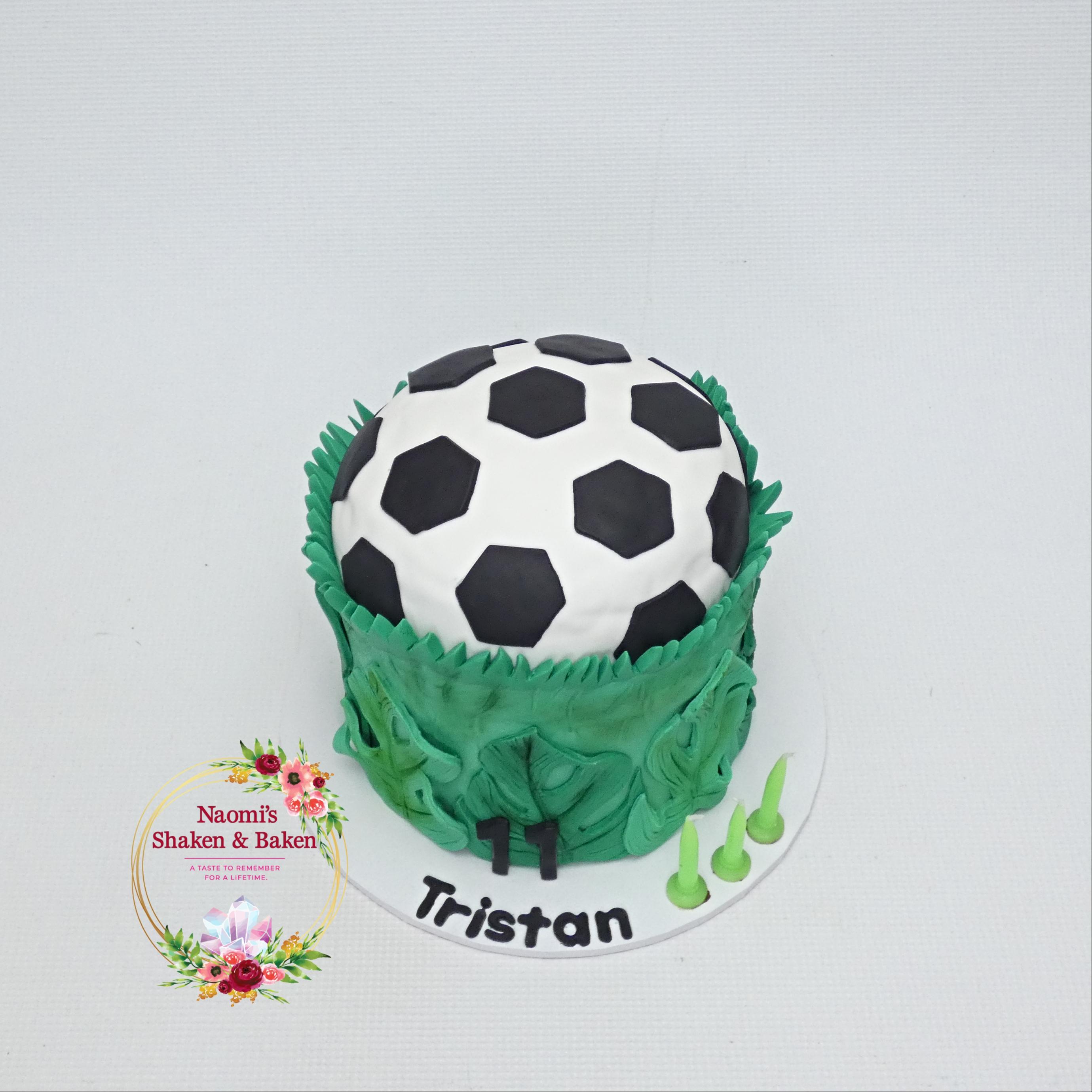 Soccer Themed Birthday Cake NorthLakes