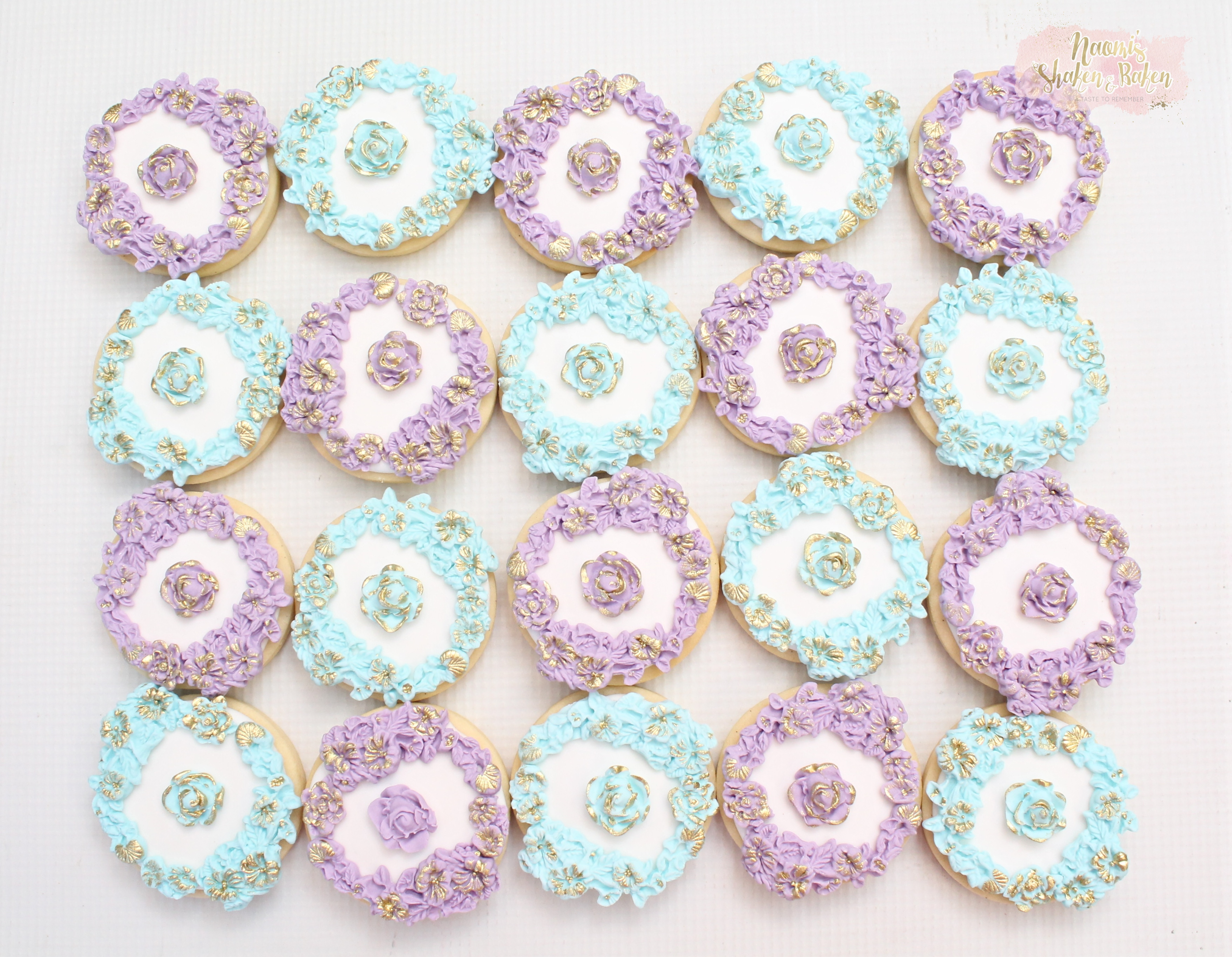 Flower cookies Caboolture