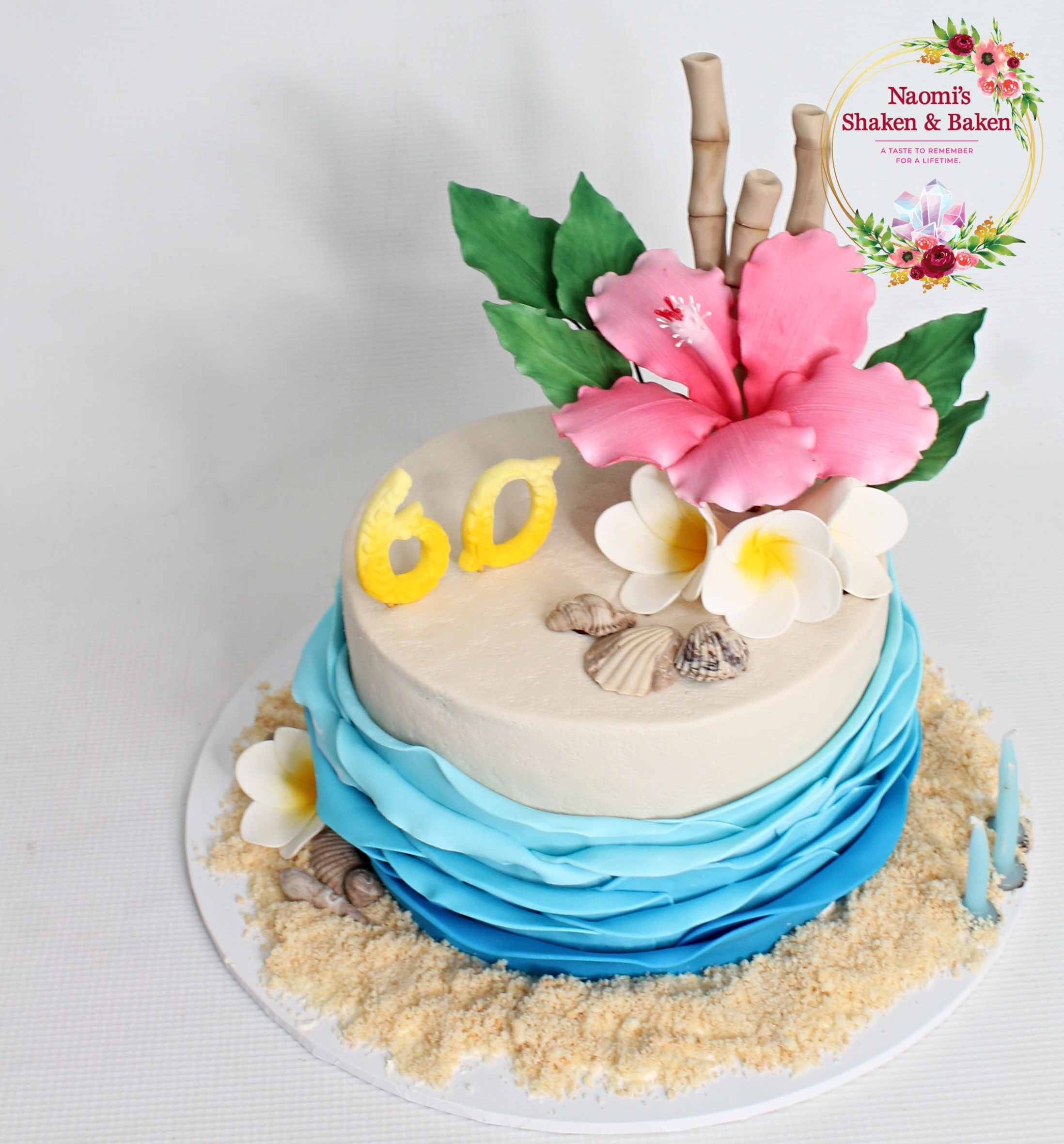 Hawaiian Themed Birthday 60th