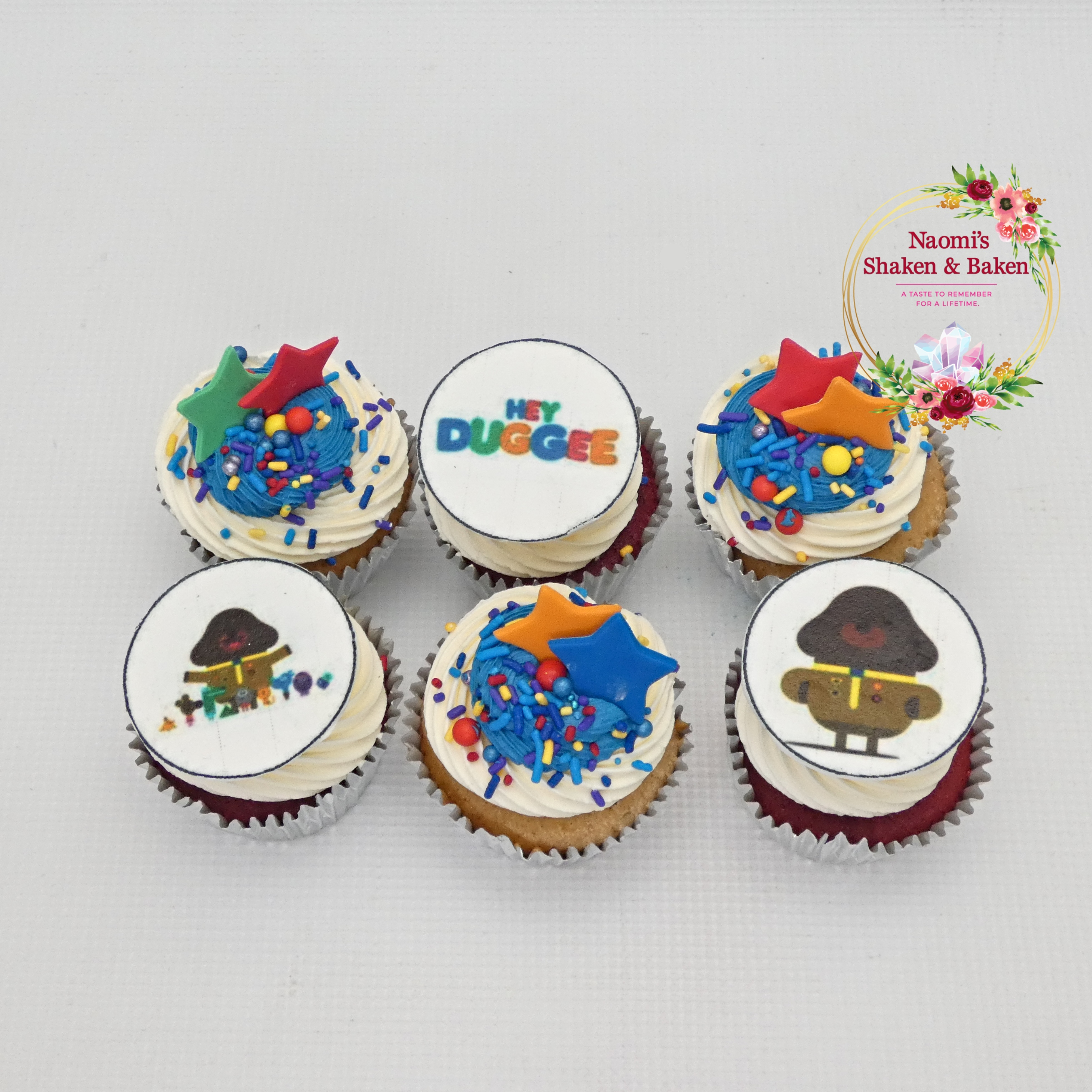 Hey Duggee Themed Cupcakes Caboolture