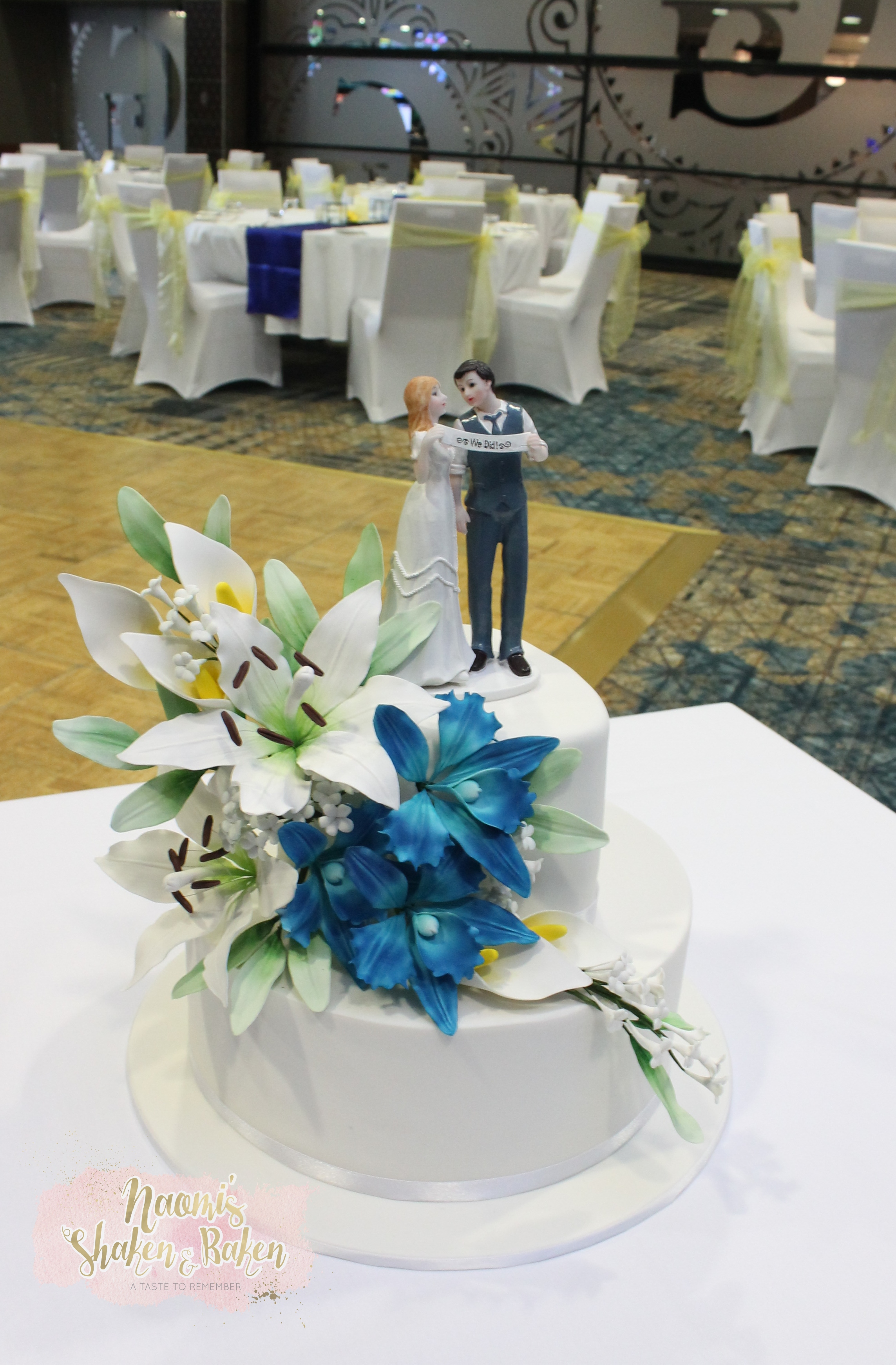 Sports Club Caboolture Wedding Cake