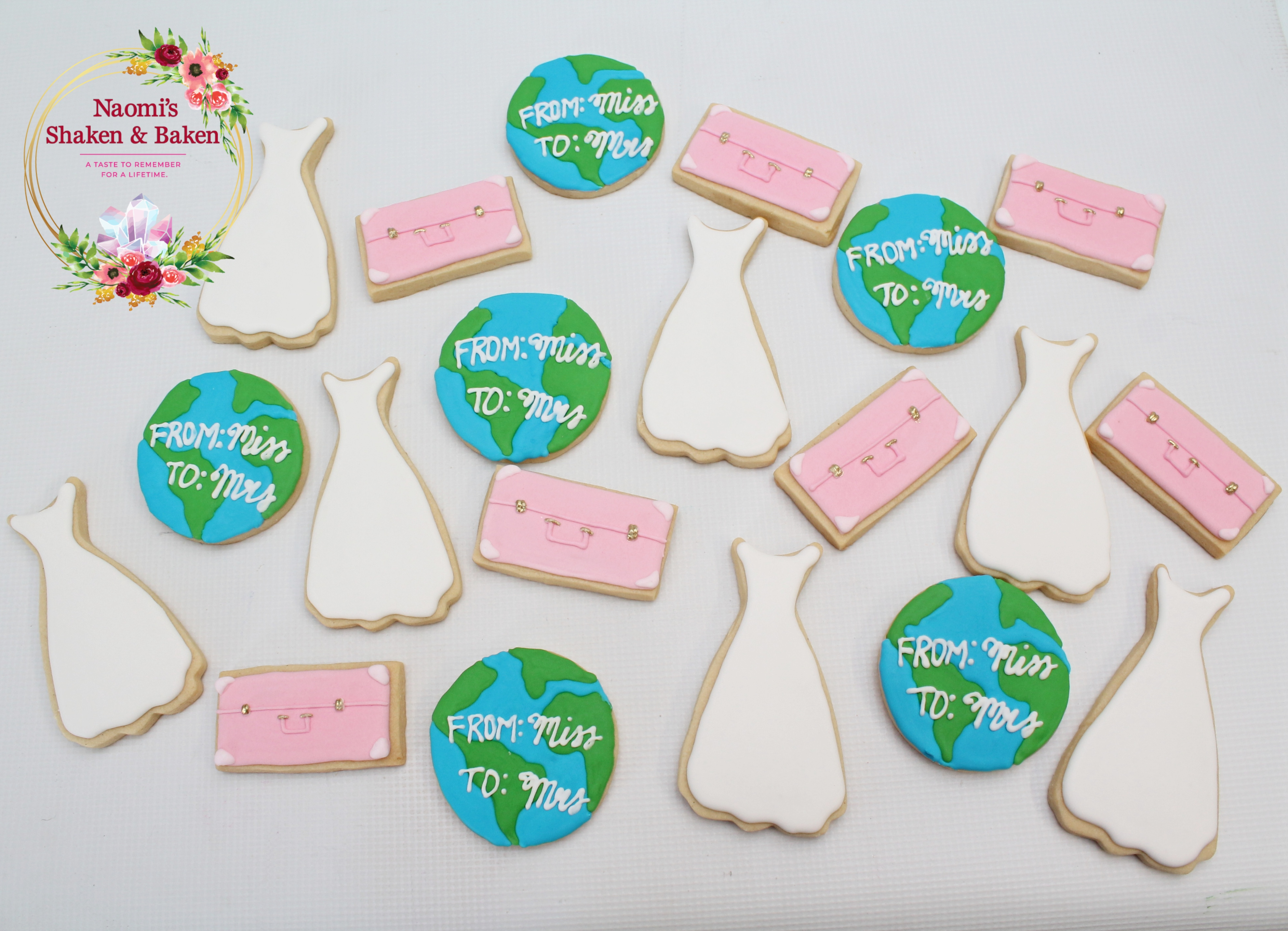 Royal Icing Bridal shower Cookies