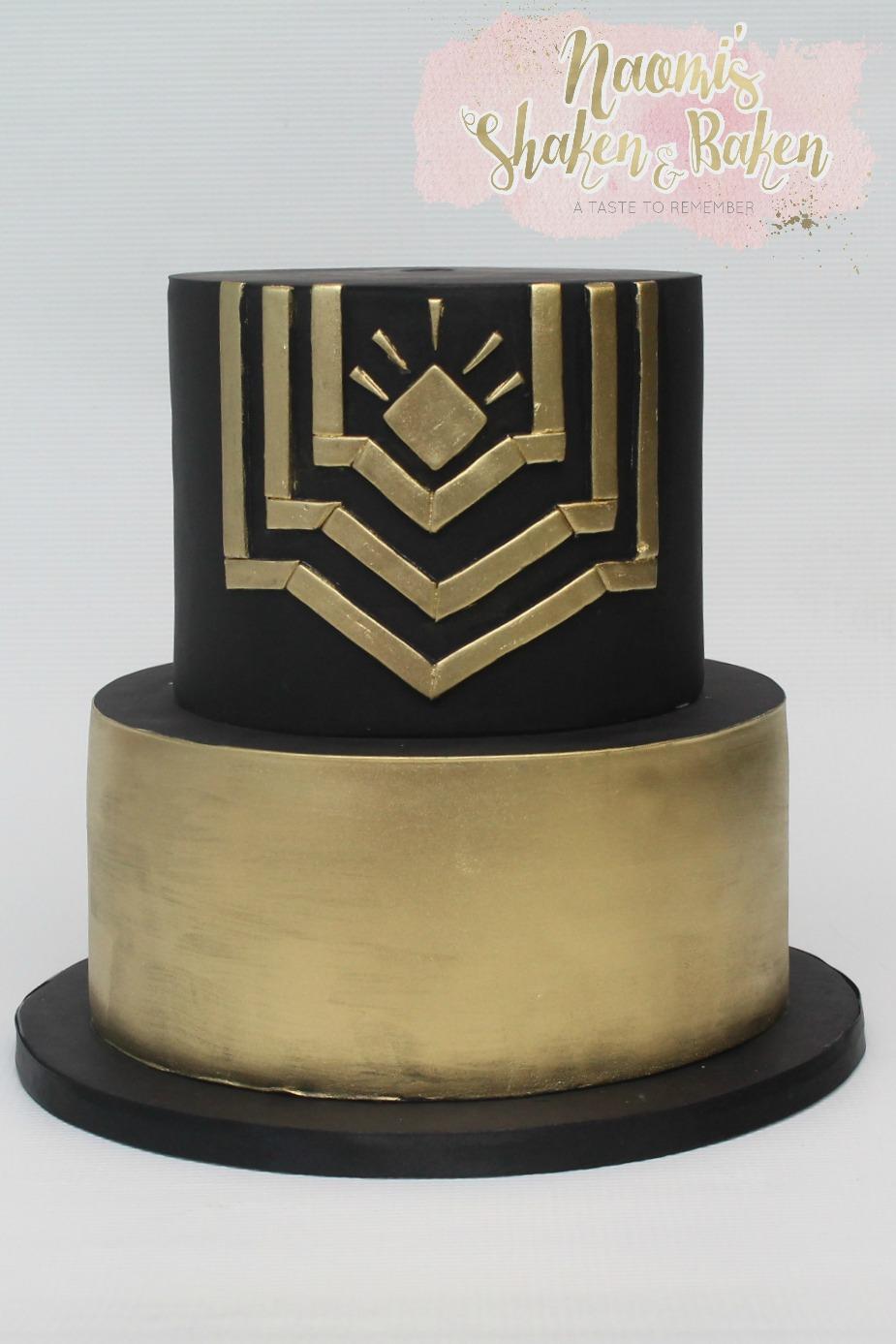 Gatsby birthday cake