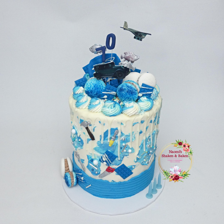 70th Buttercream Birthday Cake NorthLakes