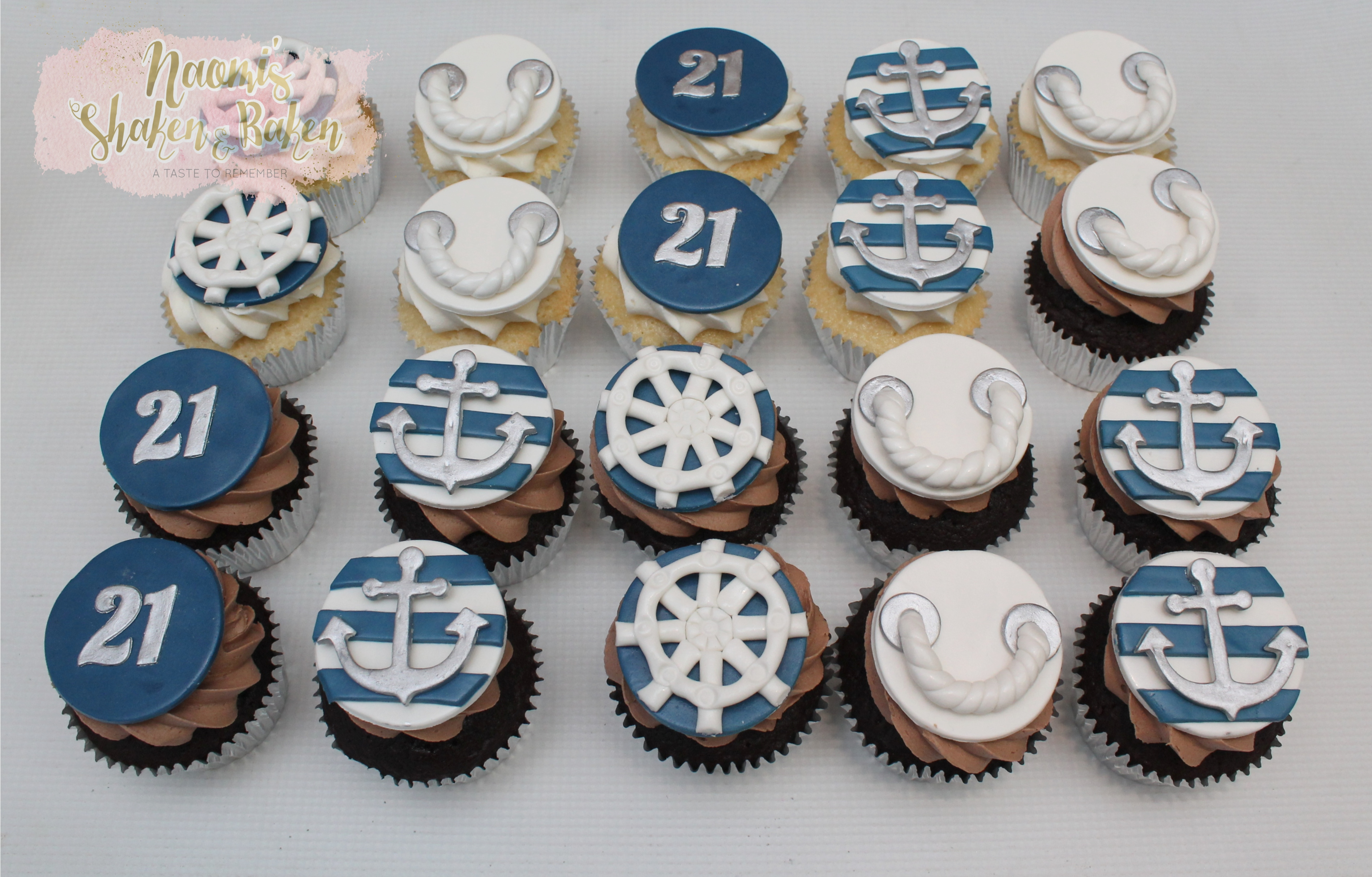 21st birthday Anchor themed