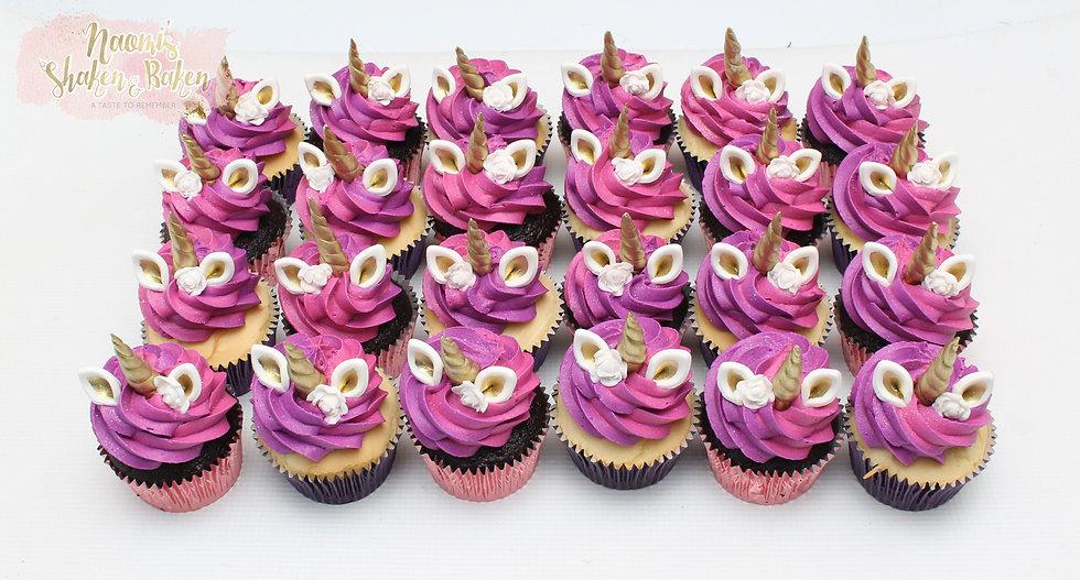 12x Edible Unicorn Fondant Cupcake Topper Sets Ship Australia Wide