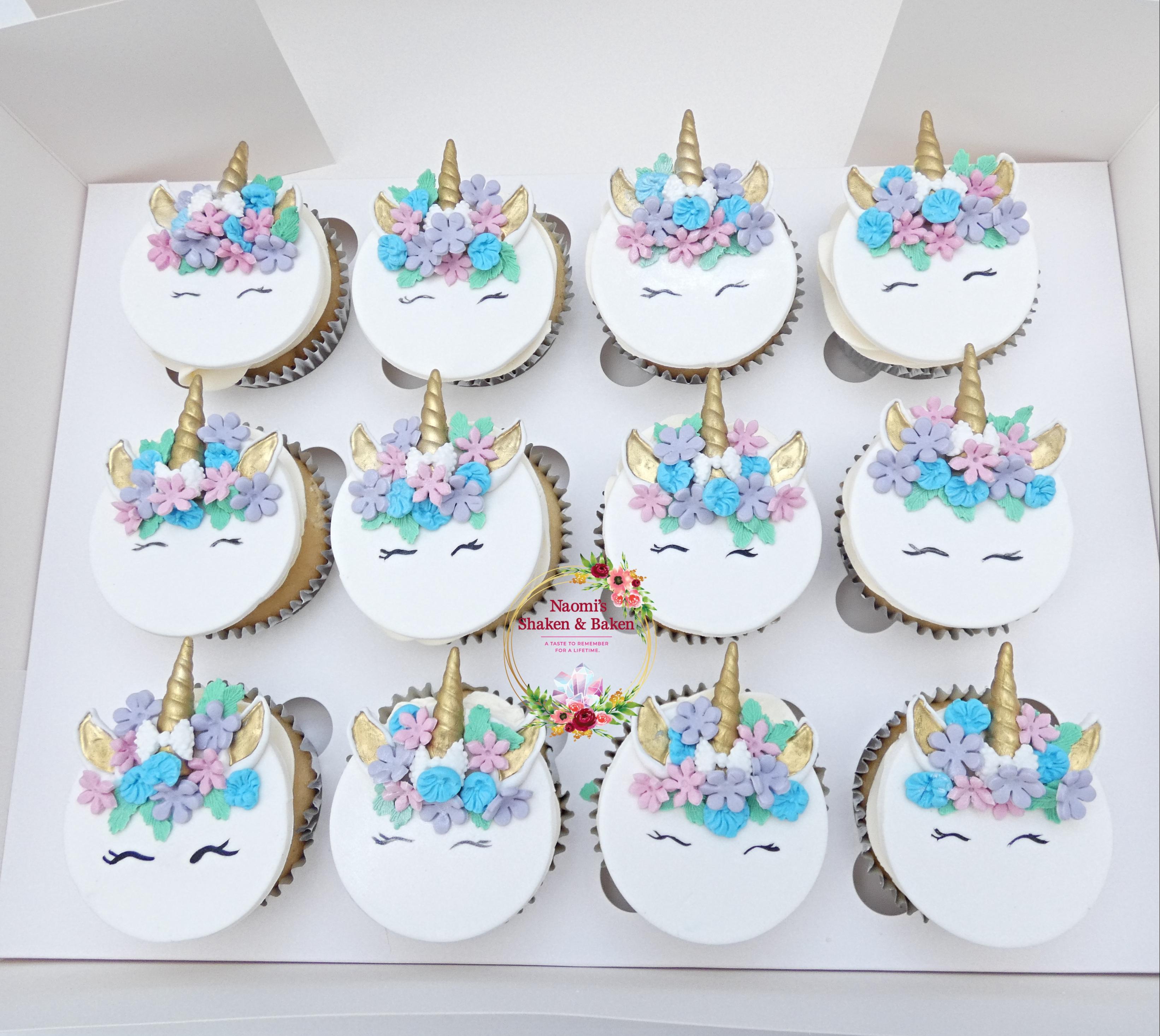 Cute Unicorn Birthday Cupcakes Northlakes