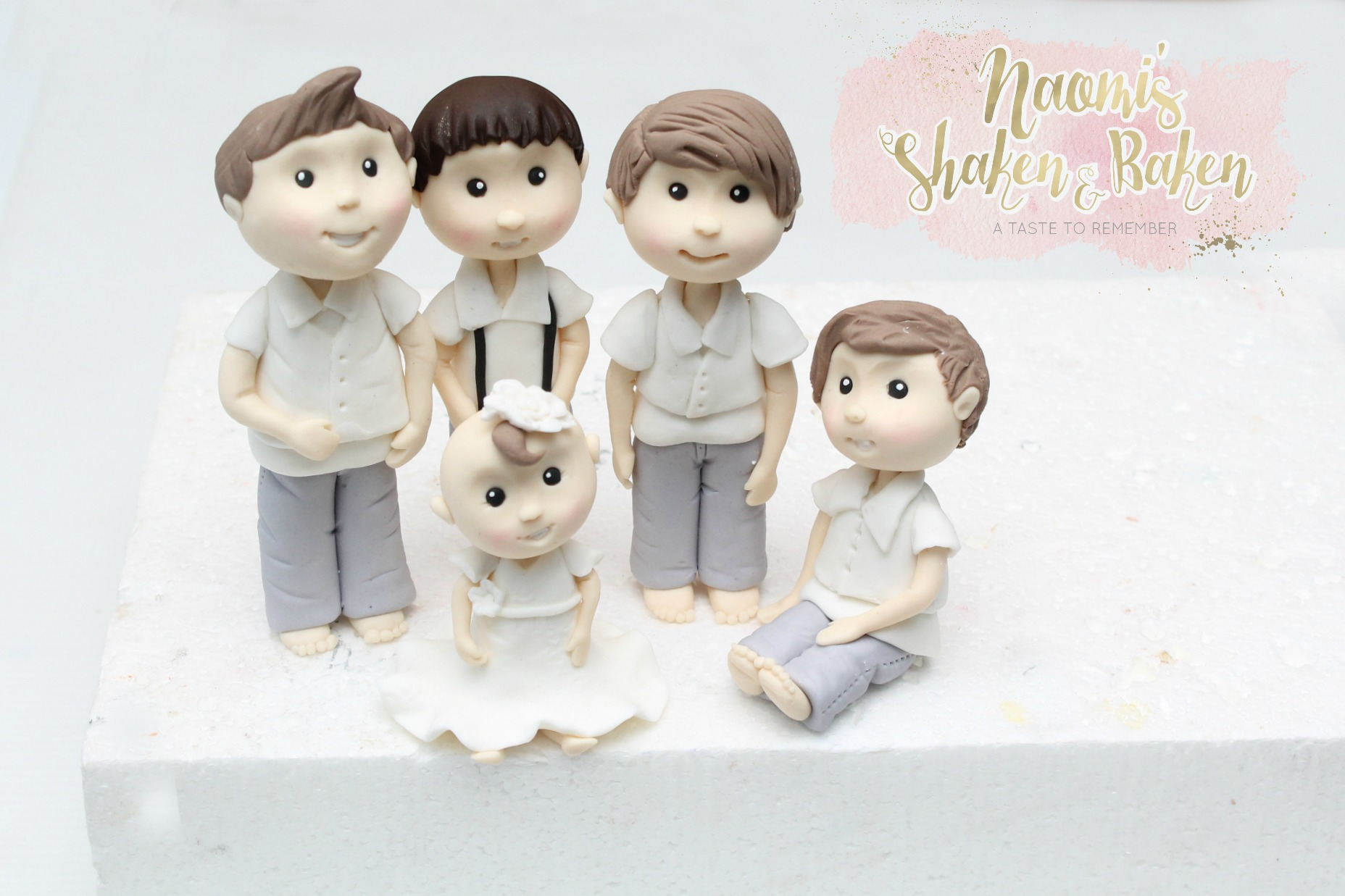 Family edible toppers kids