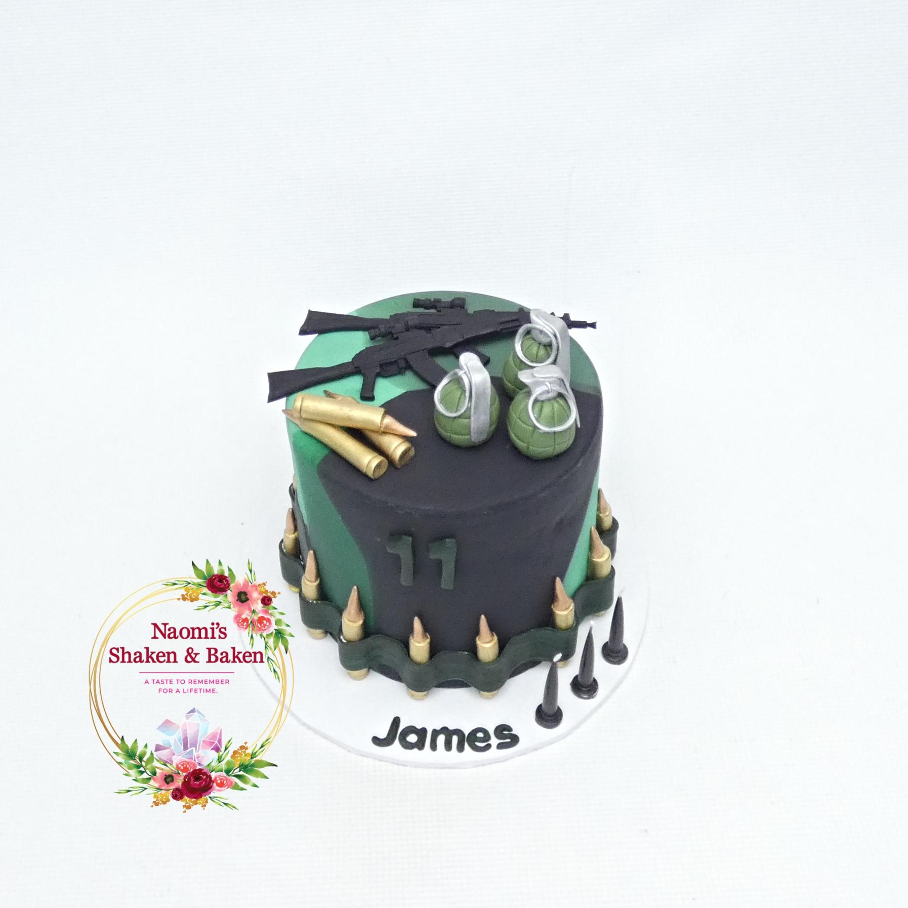 Army Themed Birthday Cake Northlakes
