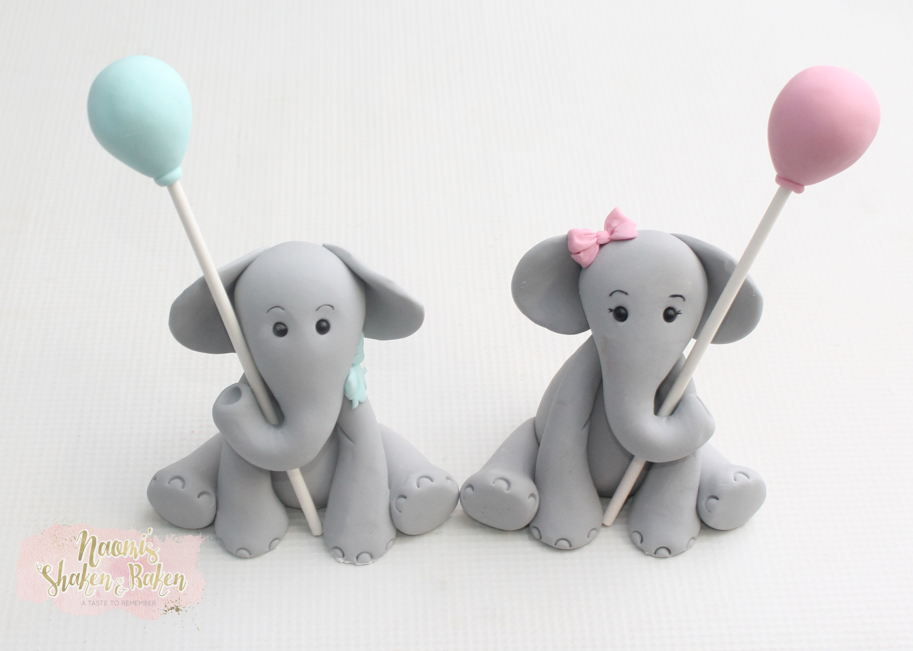 Cute elephant toppers