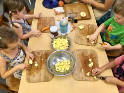 Applesauce Making