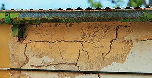 moisture-and-termite-damage-from-gutter-