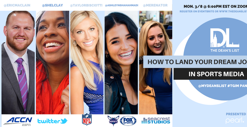 How to Land Your Dream Job in Sports Media