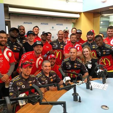 NASCAR Drivers & Pit Crews