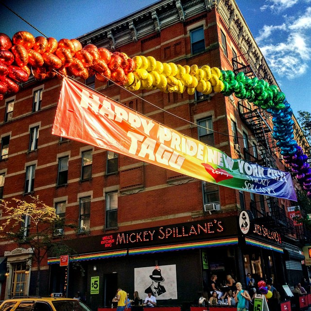 more historic time to live in the gayborhood! Finally, #LoveWins thanks to #SCOTUS! #GayMarriage #NY