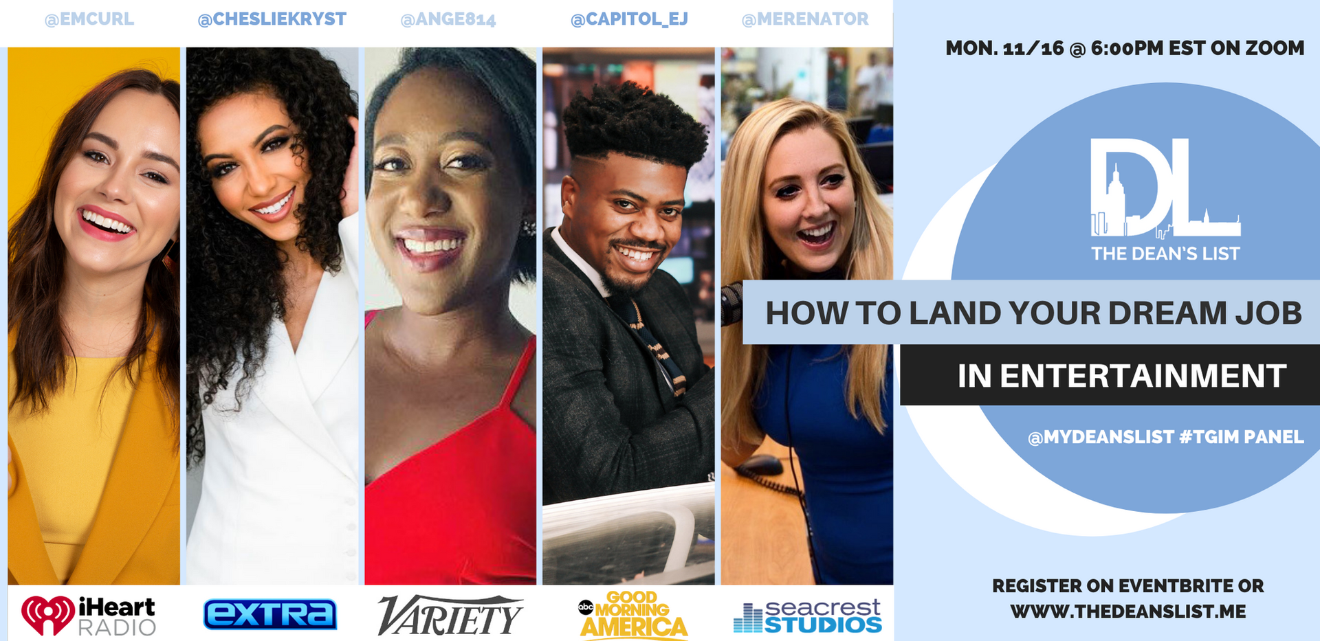 How to Land Your Dream Job - Entertainme