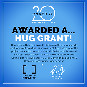 CLT Is Creative HUG Grant