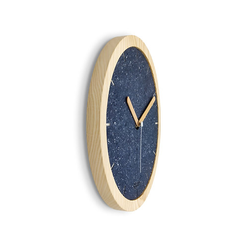 Eora Clock - Cotton Blue