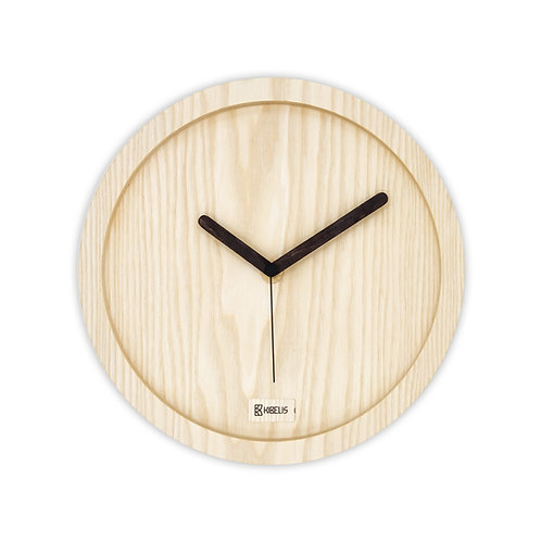 Eora Clock - Naked Ash
