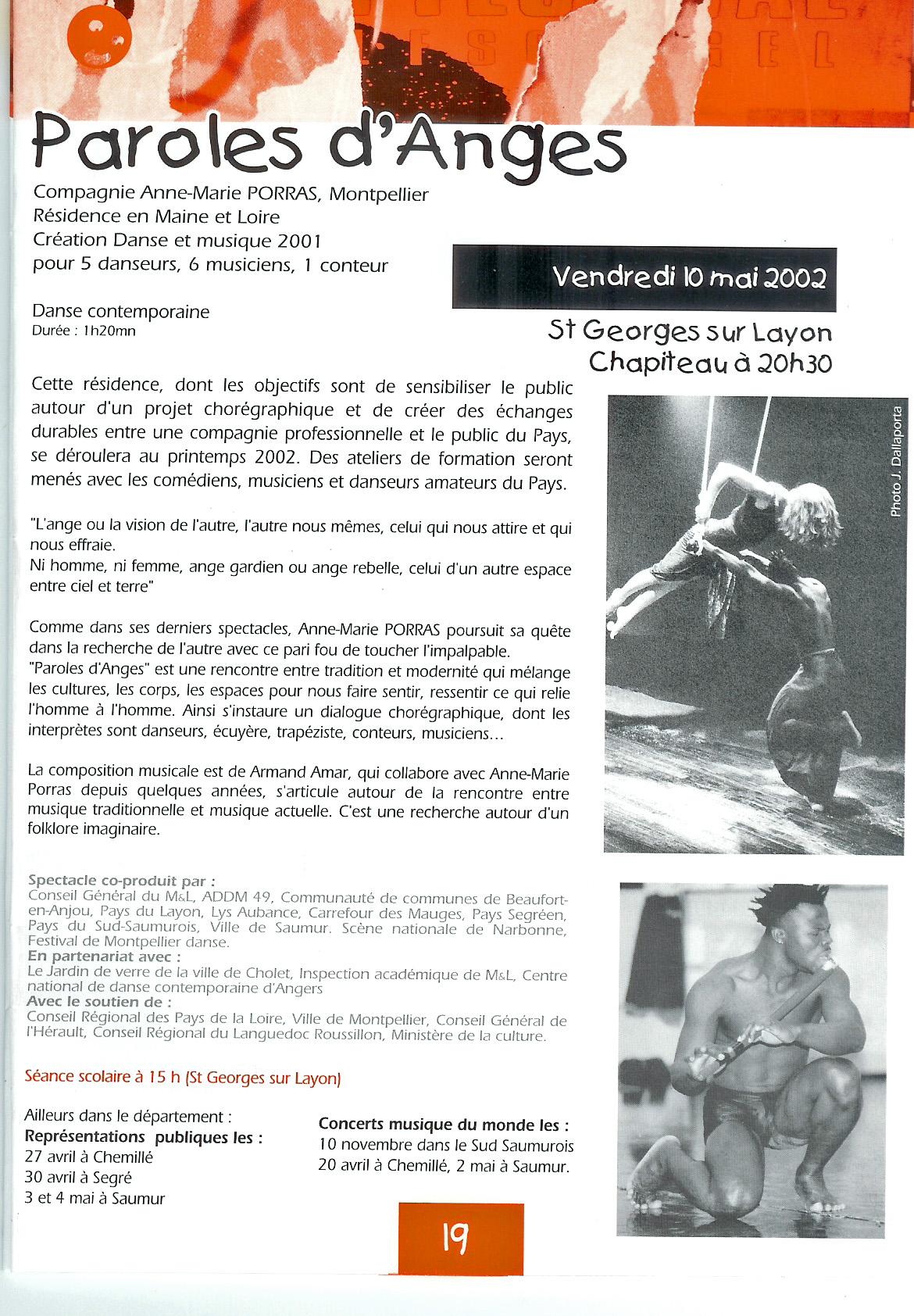 programme vendredi 10 mai 2002