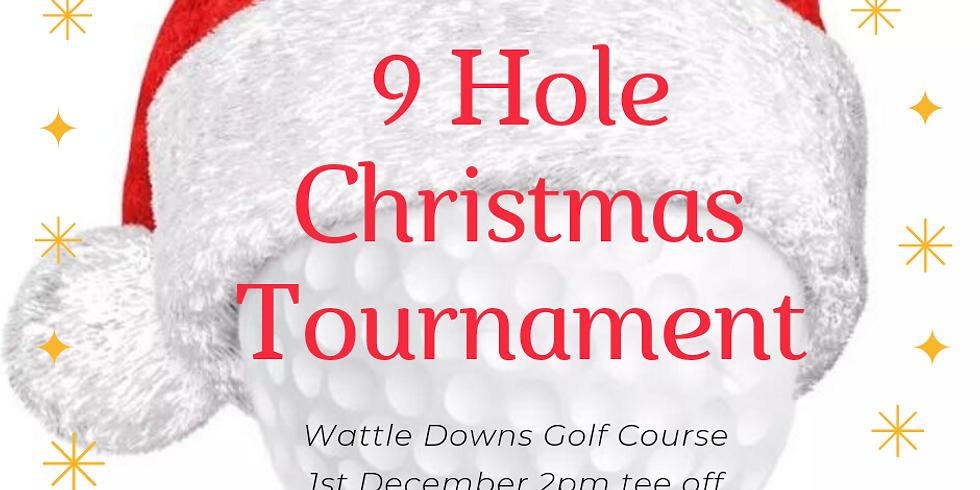 Beginner 9 holes Christmas Tournament