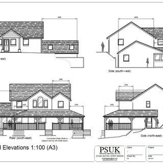 Architectural Drawings 2D Drawings for planning permission & building regulations applications