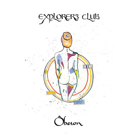 Ôberon - Explorers Club Limited Edition White Vinyl LP Signed