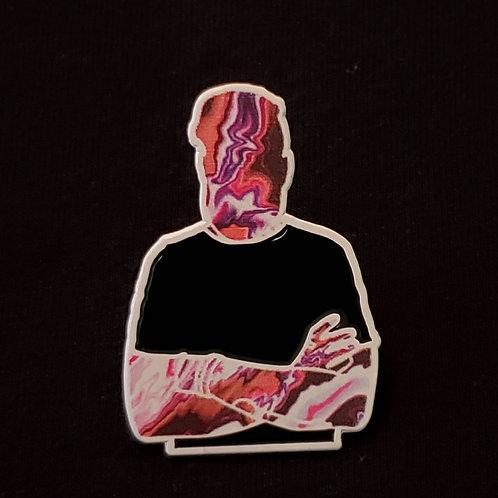 Jonathan StrÆnge Die Cut Pins