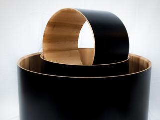 Maple Shells w/ Black Stain
