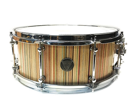 Recycled Skateboard Wood Snare (Maple)