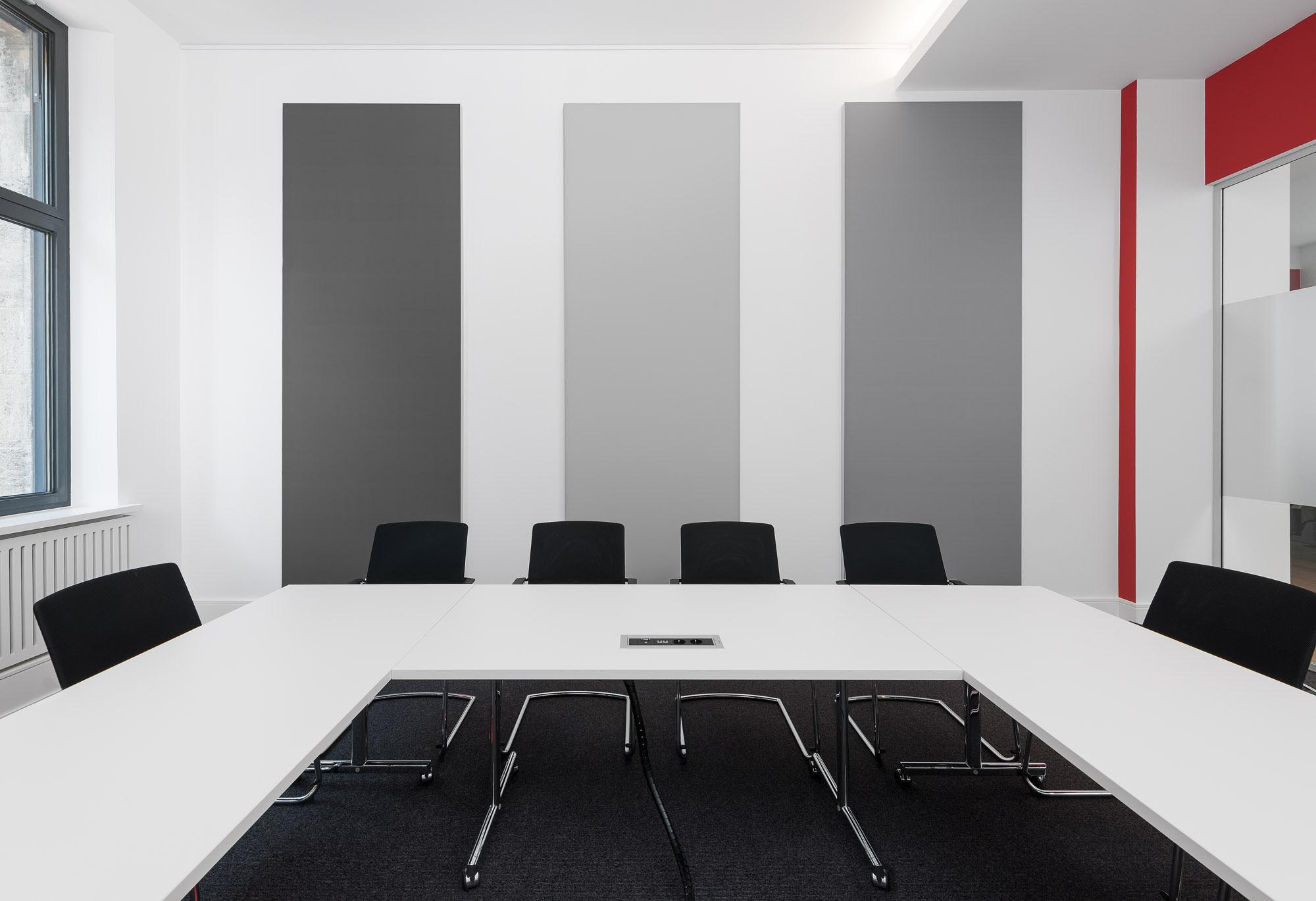 Konferenzraum - Akustiksegel