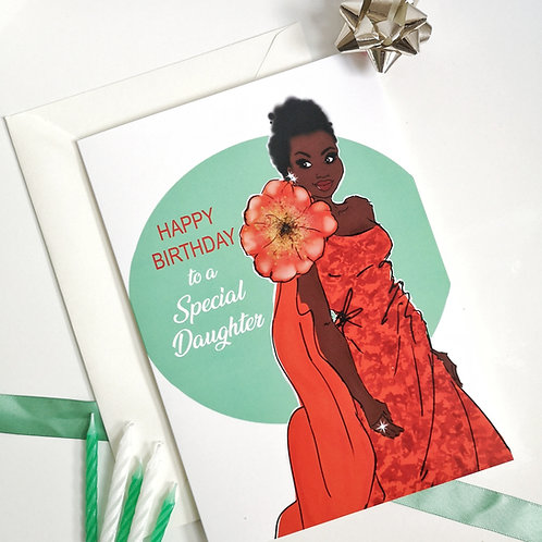 'Jesire' Happy Birthday Special Daughter Card