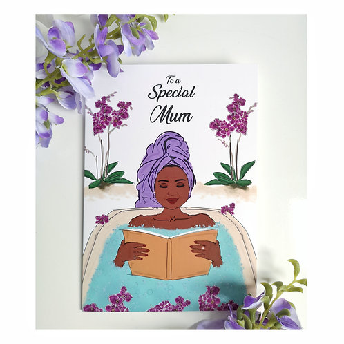 To A Special Mum Happy Birthday Card