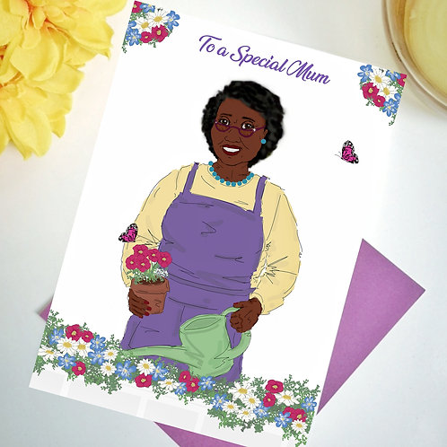 Dorothy To A Special Mum Card