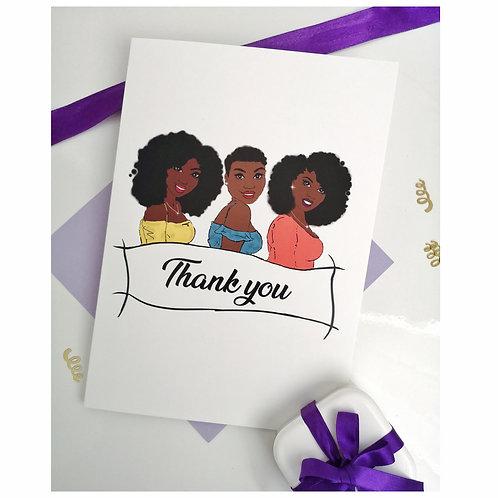 Thank You celebration card