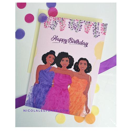 Best Friends Happy Birthday Card
