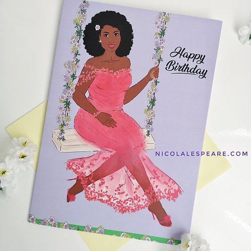 Patsy Happy Birthday Card