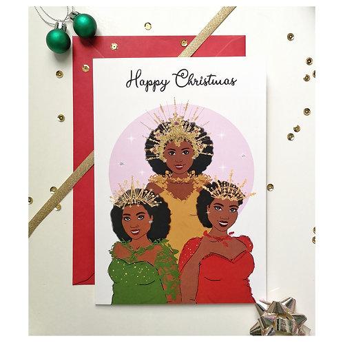 3 Crowns Christmas Card