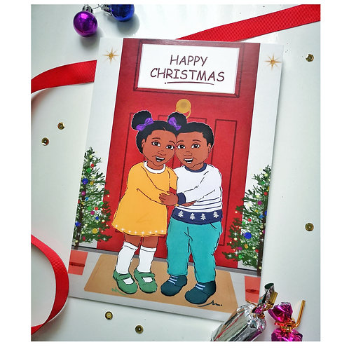 Kids Christmas Card