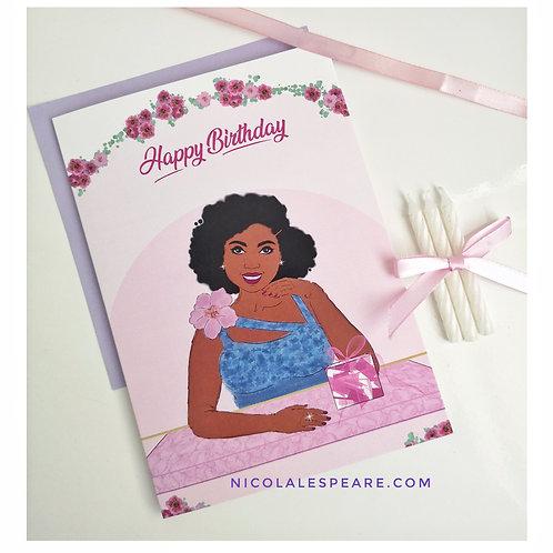 Chantelle Happy Birthday Card